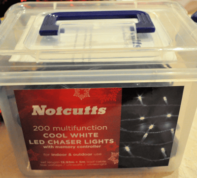Review: Notcutts Indoor and Outdoor Christmas Lights