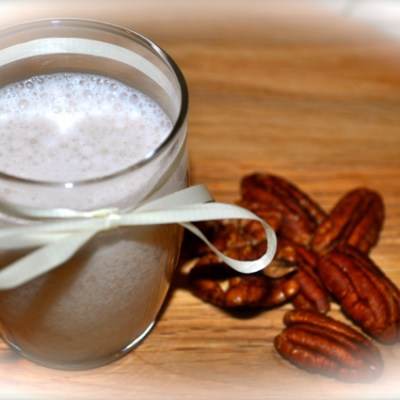 How to make unsweetened pecan milk.