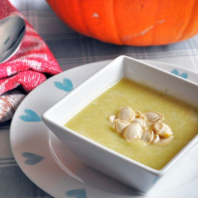 Soup Maker Recipe: Cream of Peppercorn Pumpkin Soup