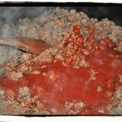 Guest Recipe:  Sloppy Joes Burger by Claire T