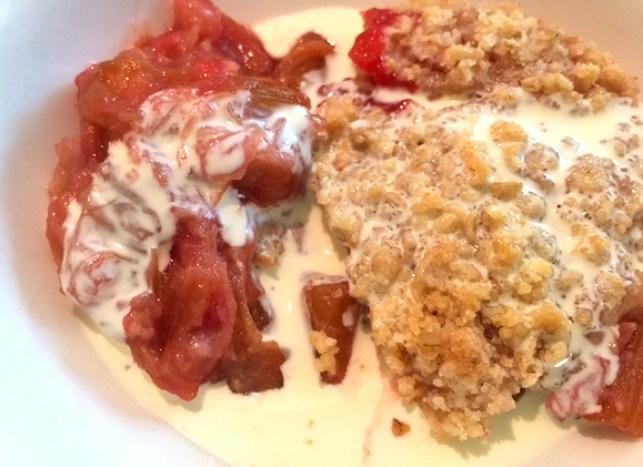 Rhubarb Crumble 7