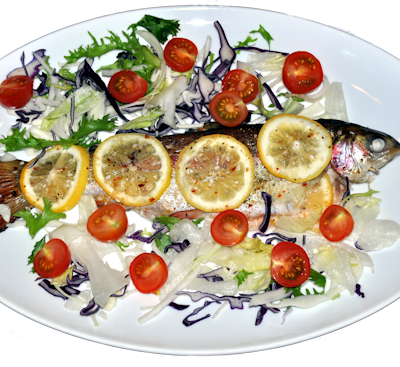 Roasted Whole Rainbow Trout Recipe (Lemon & Parsley)