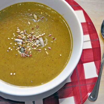 Soup Maker Recipe:  Root Veg with Mushroom Soup
