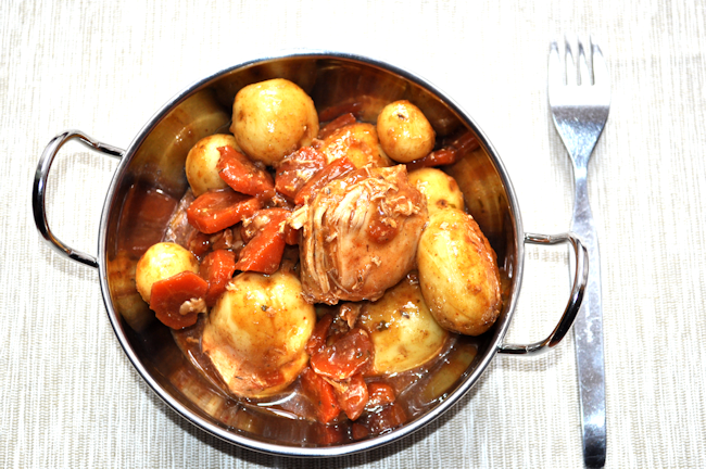 Bag Roasting: Rustic Chicken Stew