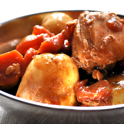 Recipe:  Bag Roasted Rustic Chicken Stew