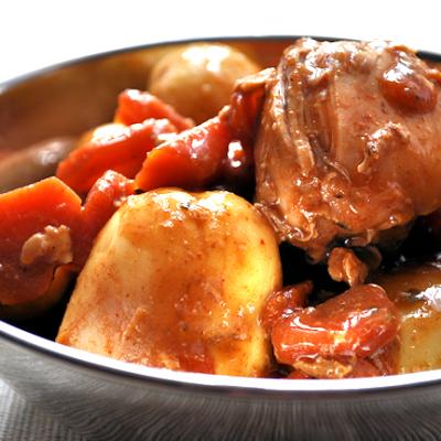 Recipe:  Bag Roasted Rustic Chicken Stew
