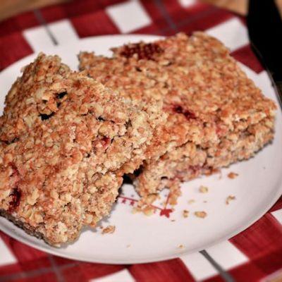 Strawberry Flapjacks Recipe