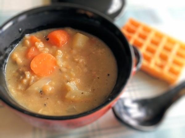 Vegetarian Haggis Soup 3 700