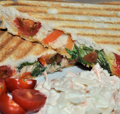 Princes Wild Alaskan Pink Salmon Toasted Sandwiches