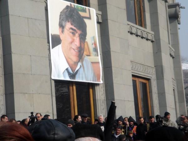 Poster of Hrant Dink
