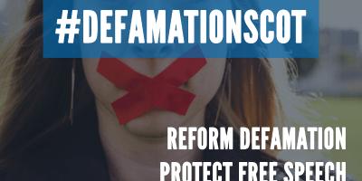 defamation scot campaign - reform defamation, protect free speech