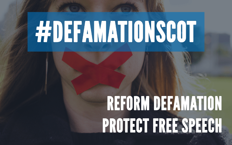 defamation scot campaign - reform defamation, protect free speech