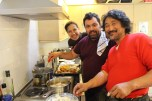 Artists/Curator/Chefs Kate, Nuno and Kata