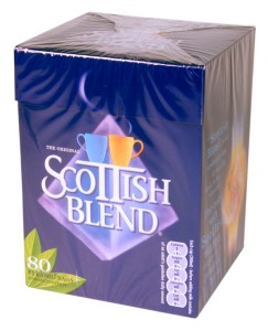 Scottish Blend box of 80 tea bags only $9.99.