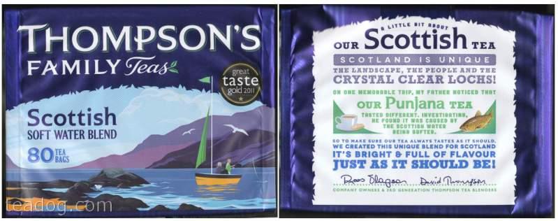 Thompsons Scottish Blend Tea