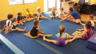 Preschool group stretch