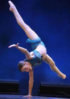 dancer handstand