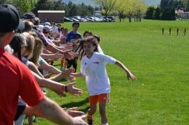 soccer high fives