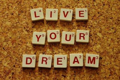 live-your-dream scrabble