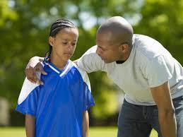 parent with child athlete