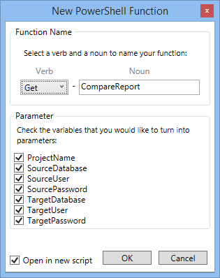 New PowerShell Function