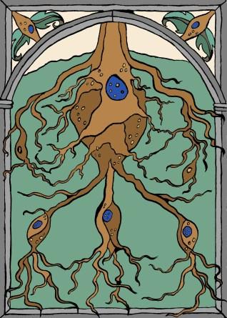 Roots and Neurons. Scott Keenan, 2014