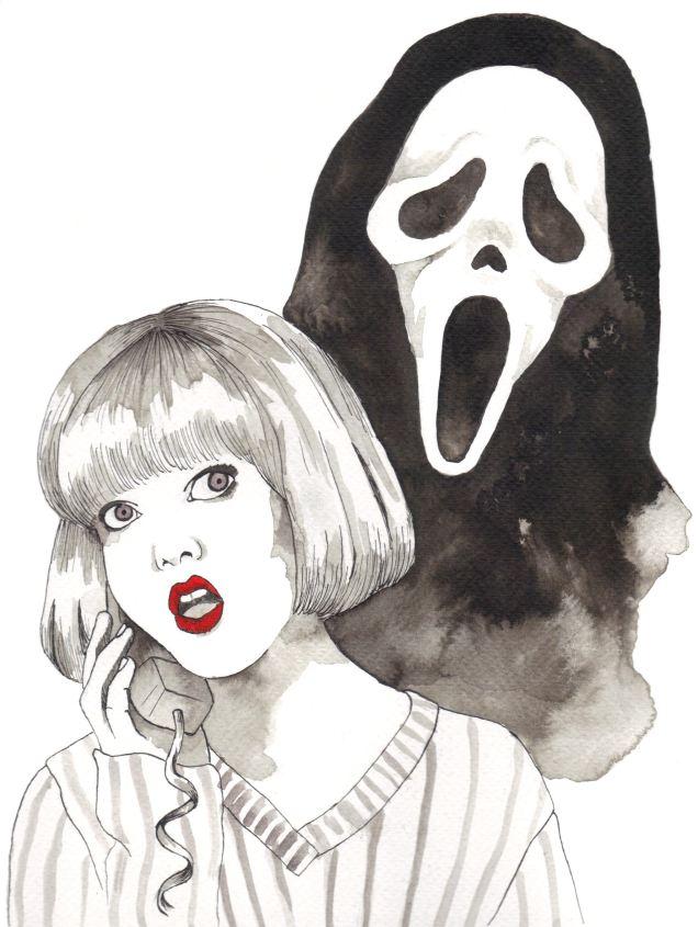 Day 30. Scream