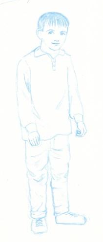 Character Blue 1. Scott Keenan, 2016