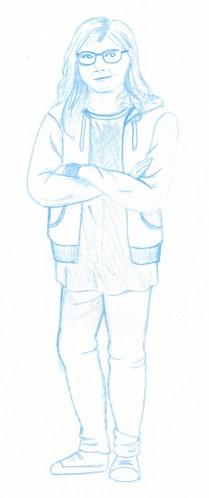 Character Blue 2. Scott Keenan, 2016