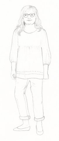 Character Sketch 3. Scott Keenan, 2016