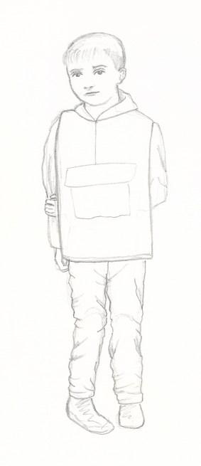 Character Sketch 1. Scott Keenan, 2016