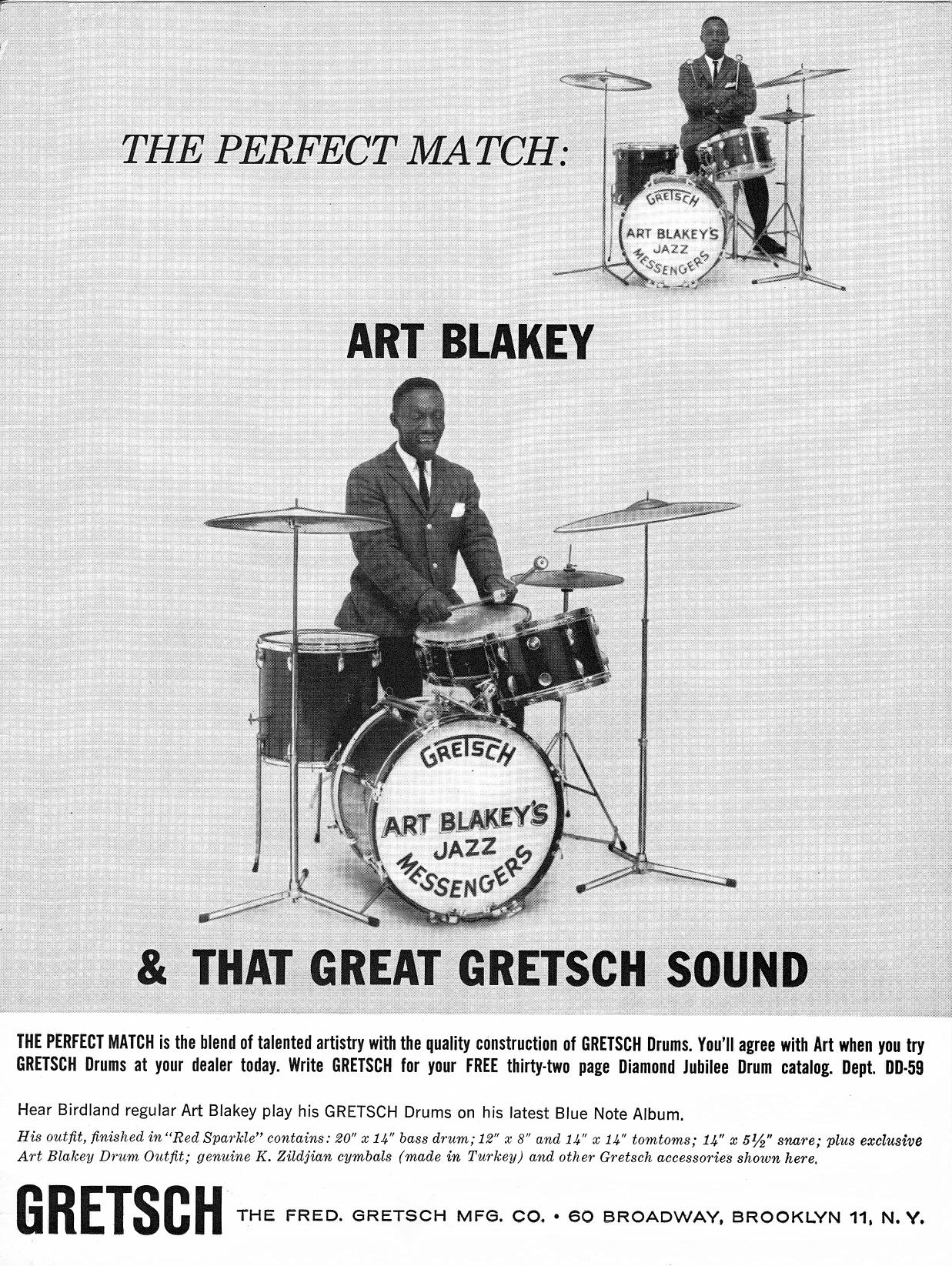 Art Blakey S Gretsch Drumset