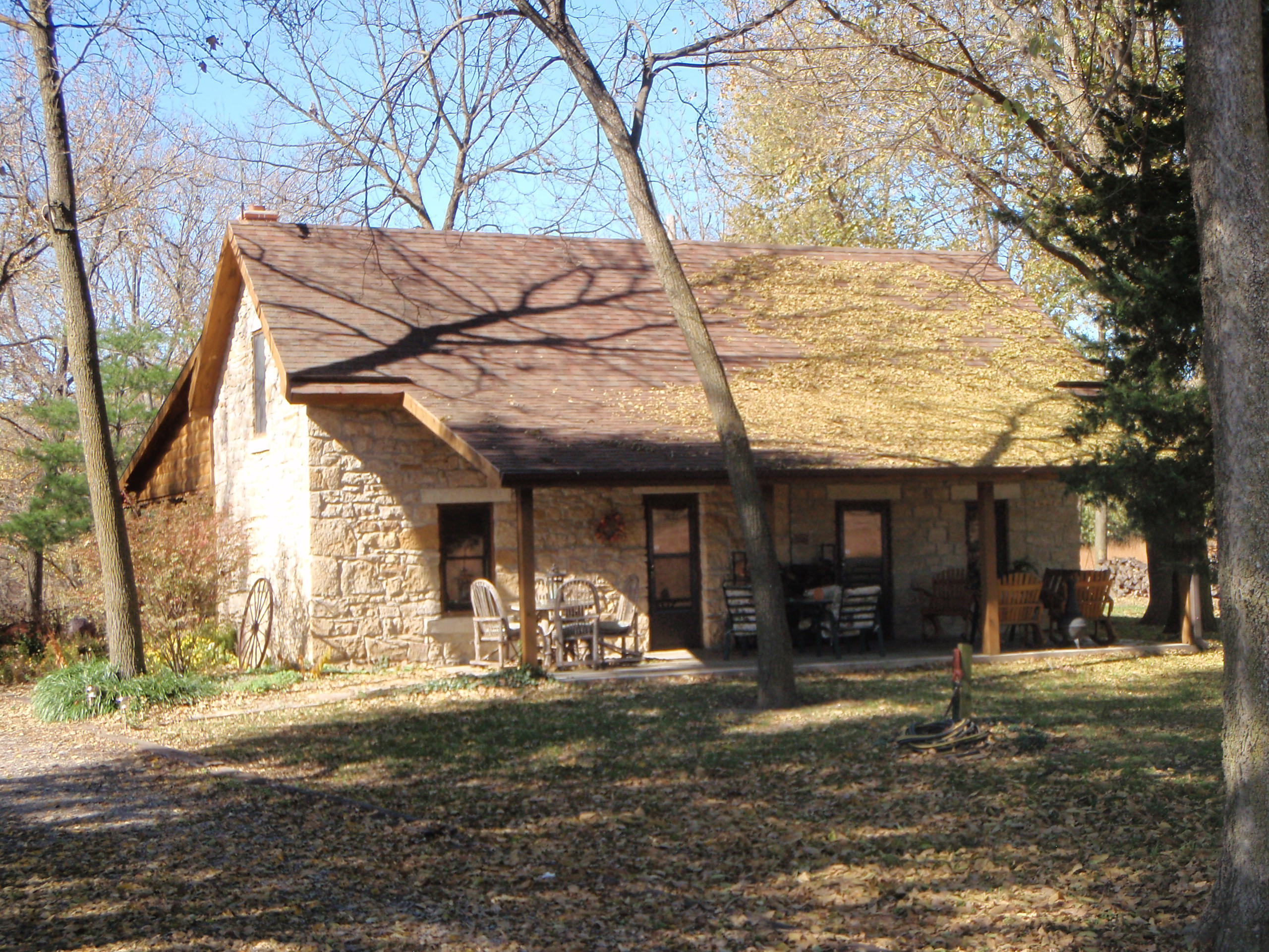 Historic Mission Creek Lodge, at Ravenwood since the Civil War era