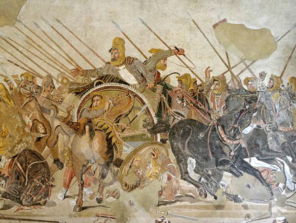 battle of gaugamela alexander movie
