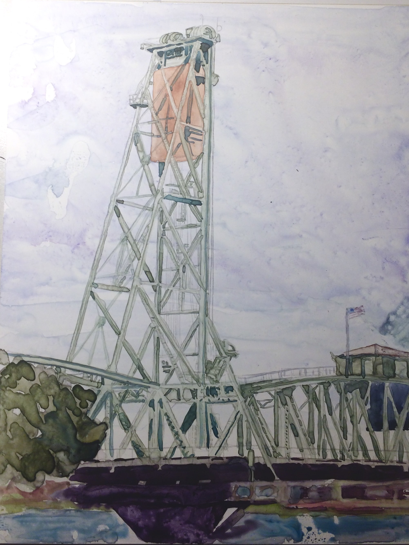 Hawthorne Bridge – Print