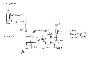 4N35 Optocoupler Diagram