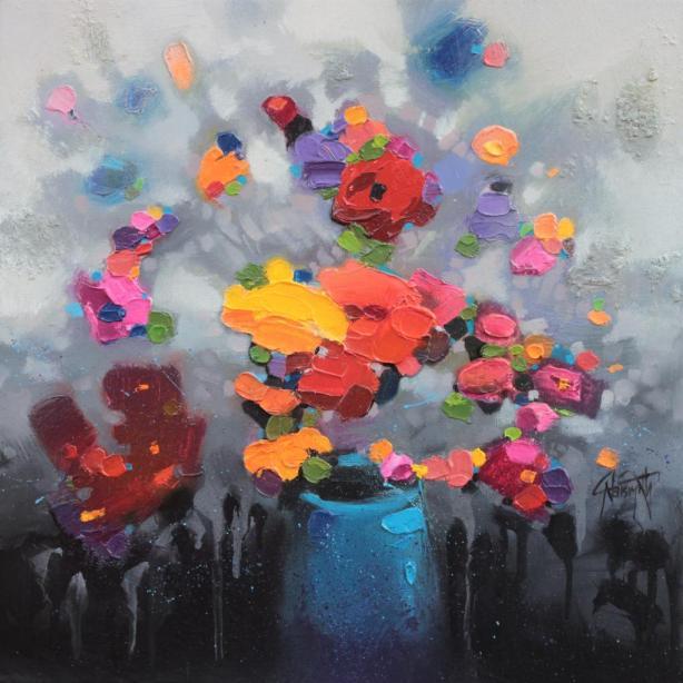 40cm CMY Bouquet 1
