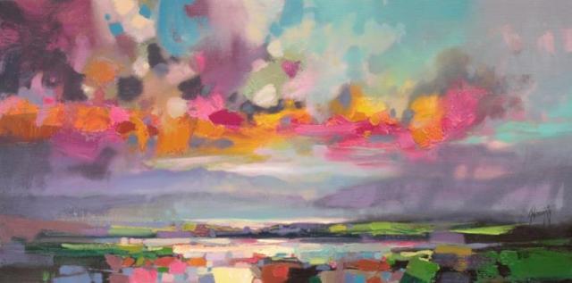 Dissonant Skye landscape oil painting by Scott Naismith