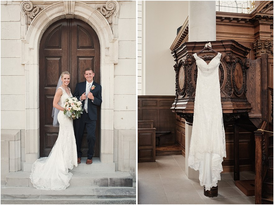 Church of St. Mary Wedding  |  Fulton, Missouri  |  Erin & Alex