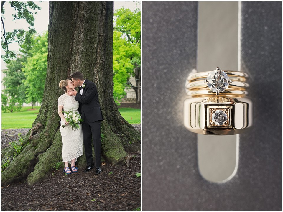 Romantic Spring Wedding | Columbia Country Club | Caroline & Evan