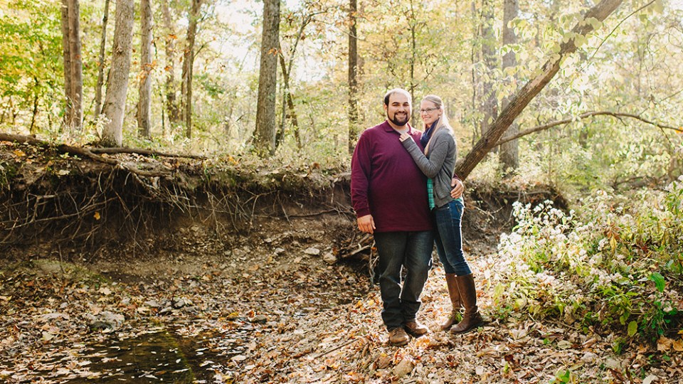 John + Sarah's Fall Engagement Photographs  |  Columbia, Missouri