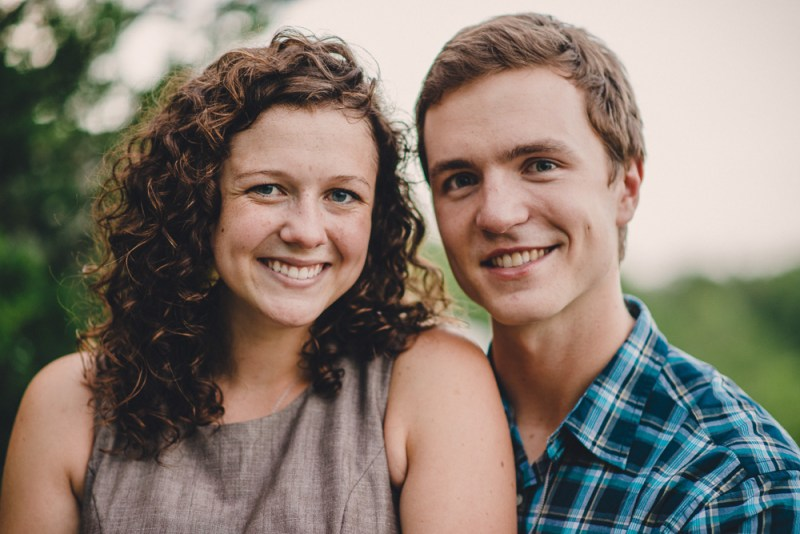 James + Rachel's Summer Engagement Photographs | Columbia, Missouri