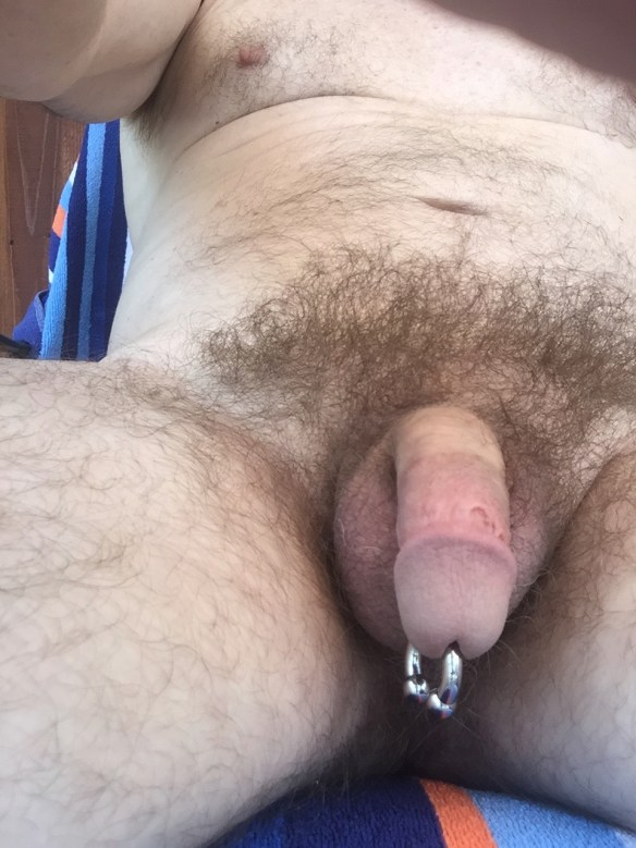 My hairy dick and PA