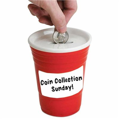 3RD SUNDAY                                        COINS COLLECTED BY CHILDREN.