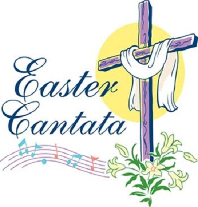 Easter cross with music