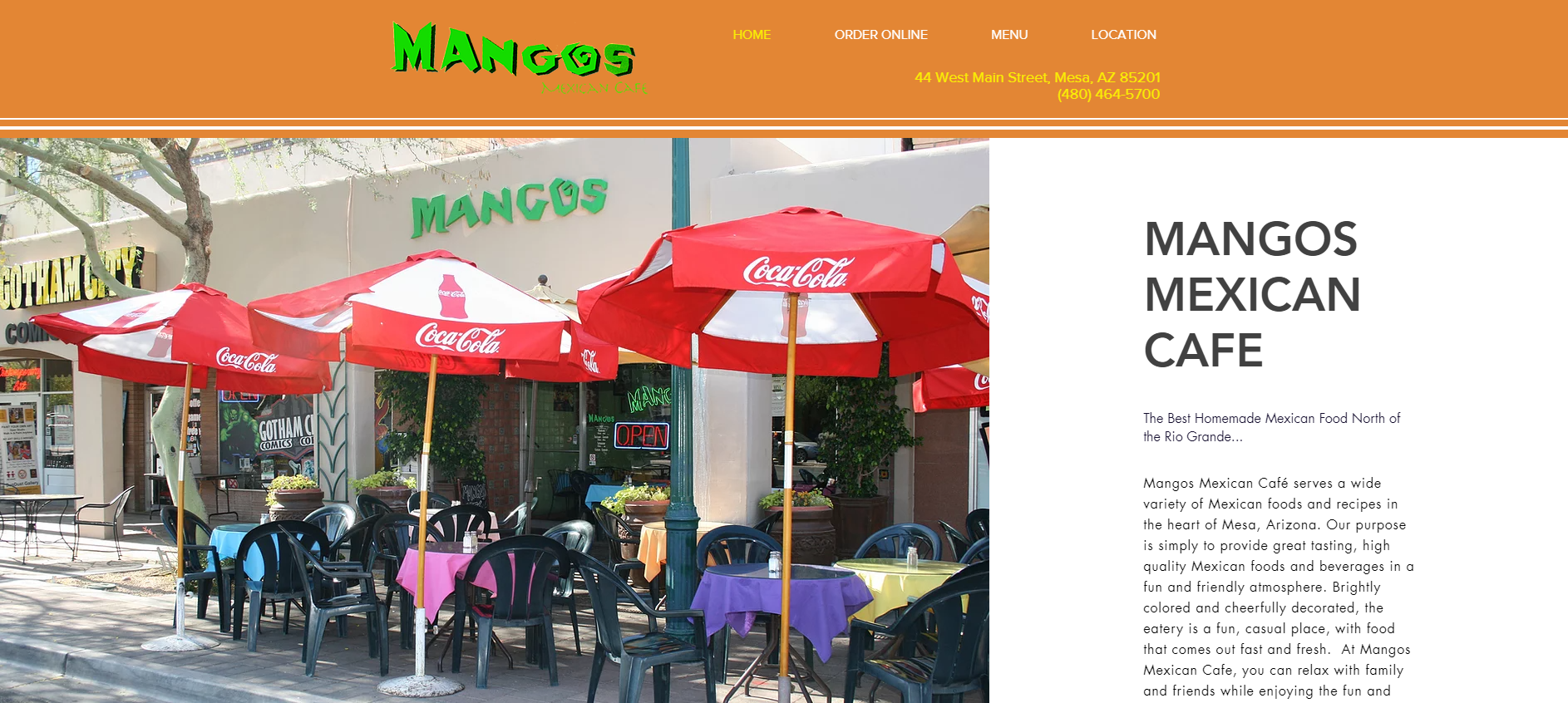 Mangos Mexican Cafe