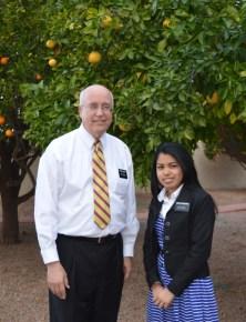 Pres. Sweeney and Sister Radamason