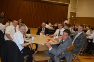 At the new missionary and companion lunch!