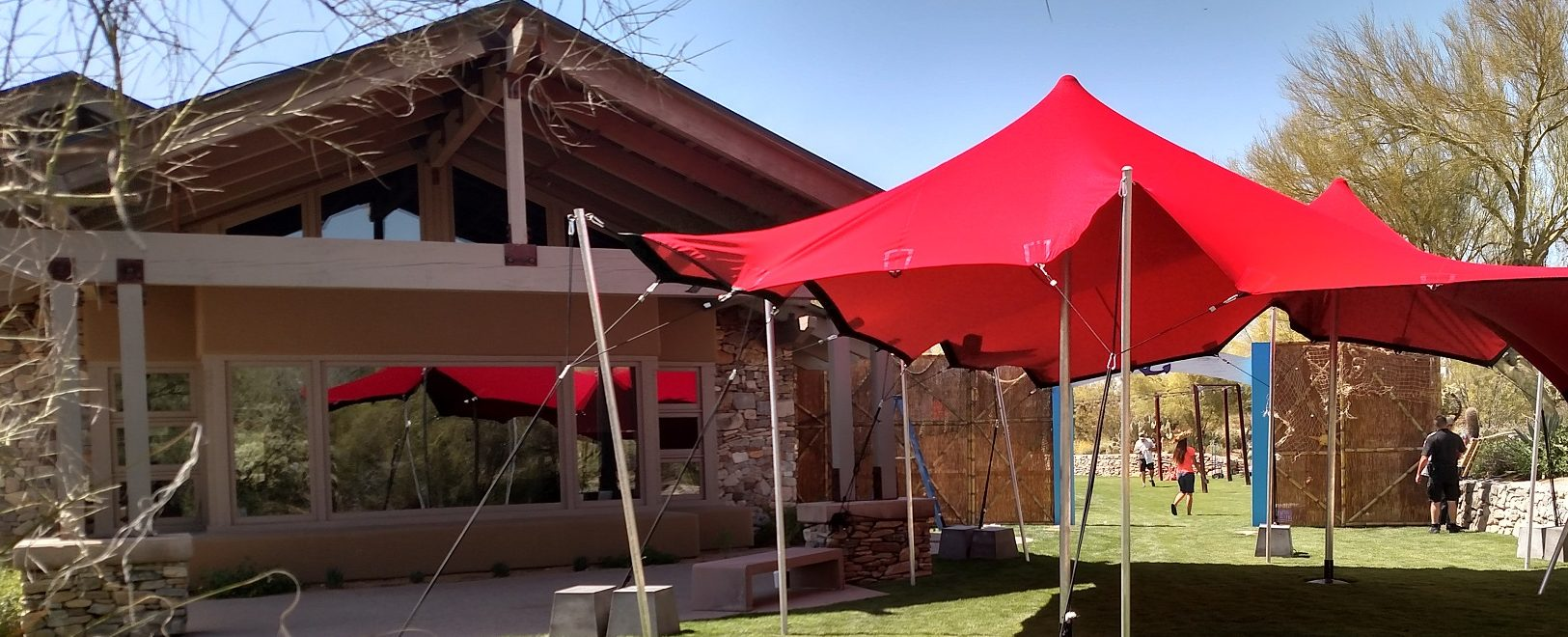 Scottsdale Stretch Tents At DC Ranch & Easter event tent rental for DC Ranch in Scottsdale | Scottsdale ...