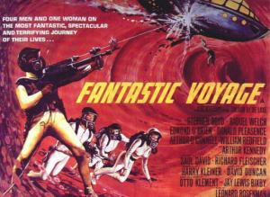 """A poster for the old movie """"Fantastic Voyage"""""""